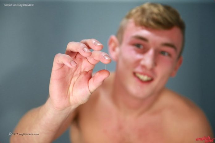 AndysBestSites EnglishLads Tall Young Blond Howard Shows Eight Inches