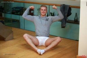 AndysBestSites EnglishLads Young Straight Rugby Uncut Stud Adam Pumps Dick